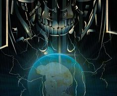Classic Sci-Fi Terminator by Luis Atao
