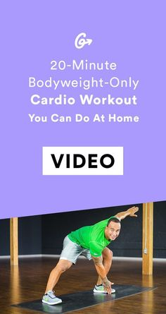 All you need is your body weight. #greatist http://greatist.com/fitness/home-workouts-bodyweight-only-cardio-routine