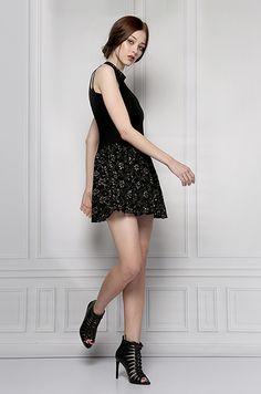 black party dress furelle