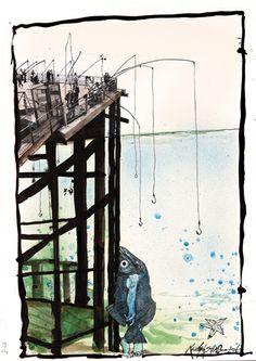 RALPH STEADMAN, Illustration, Proud to be Weirrd