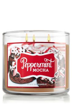 Another current fave Bath & Body Works product.  Peppermint Mocha 14.5 oz. 3-Wick Candle - Slatkin & Co.  It has such a rich, warm, wonderful scent!  No need to eat the chocolate, just let your home smell like it! Yum!