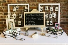 A Vintage Glam Emerald Green Wedding Wedding Prep, Wedding Planning, Catering Design, Polaroid Wedding, Emerald Green Weddings, Ideias Diy, New Orleans Wedding, Round House, Guest Book Alternatives