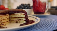 These pancakes are packed with protein to start your day right