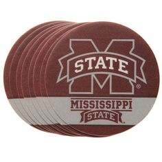 Mississippi State Bulldogs 8-Pack Paper Coaster