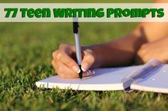 77 Teen Writing Prompts and Journal Starters plus ideas for using them at home too! | Robyns.World