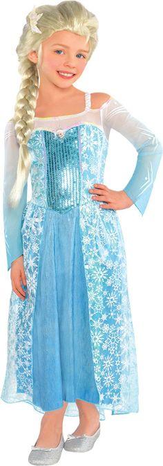 Frozen Elsa Costume for Toddler Girls - Elsa Dress - Party City