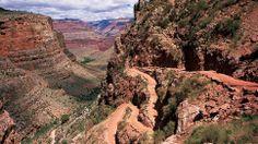 Bright Angel Trail in Arizona