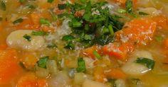 Warm Vegetable Soup