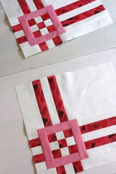 A Little Bit Biased: squares and strips tutorial