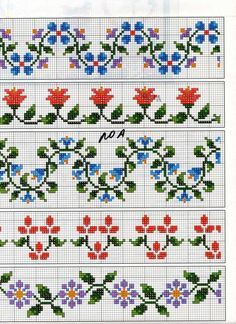 Thrilling Designing Your Own Cross Stitch Embroidery Patterns Ideas. Exhilarating Designing Your Own Cross Stitch Embroidery Patterns Ideas. Beaded Cross Stitch, Cross Stitch Borders, Cross Stitch Flowers, Cross Stitch Charts, Cross Stitch Designs, Cross Stitching, Cross Stitch Embroidery, Cross Stitch Patterns, Beading Patterns