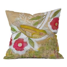 I pinned this Sweet Meadow Pillow by Cori Dantini from the Cori Dantini event at Joss and Main!