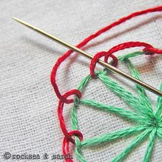Very cool site with images of each embroidery stitch to show you how its done.