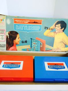 Vintage 1971 Milton Bradley Battleship Game by NonabelleVintage, $12.00