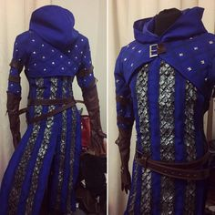 Gray Wardens Mage cosplay armor by LuirenCosplayCraft on Etsy