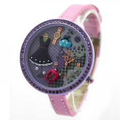 Cool! Purple Cute Princess Life Polymer Clay Watch just $33.9 from ByGoods.com! I can't wait to get it!