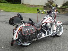 Buy 1997 harley davidson heritage springer softtail on Harley Bagger, Harley Softail, Classic Harley Davidson, Harley Davidson Motorcycles, E Biker, Hd Motorcycles, Custom Harleys, Super Bikes, Cool Bikes