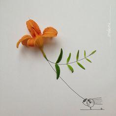 nature art by Kerstin Hiestermann