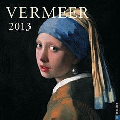 Vermeer Wall Calendar: Glimpsed in quiet moments of everyday life and bathed in sumptuous light, the subjects of Dutch Renaissance painter Johannes Vermeer's works seem transfixed in perfect stillness.  $13.99  http://calendars.com/Assorted-Fine-Art/Vermeer-2013-Wall-Calendar/prod201300000424/?categoryId=cat00016=cat00016#