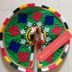 Laddu Gopal Dresses, Housewarming Decorations, Radhe Krishna, Ankle Bracelets, House Warming, Holiday Decor, Beautiful, Design, Home Decor