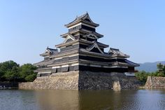 """MATSUMOTO  Castle has its origins in the Sengoku period. At that time, the Ogasawara clan built a fort on the site, whose name was originally Fukashi castle. Later, he played an important role in Takeda Shingen and Tokugawa Ieyasu.La main tower of the castle is classified as a """"national treasure of Japan.""""..........SOURCE WIKIPEDIA.ORG............"""