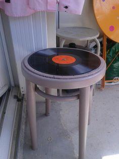 Tabouret Vinyl