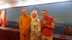 The World Federation of Chan meditation and Image Medicine conference Dengfeng (photo Facebook Maci Laci)