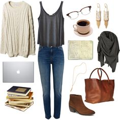 A fashion look from November 2014 featuring American Vintage tops, River Island jeans and Lotuff & Clegg tote bags. Browse and shop related looks.