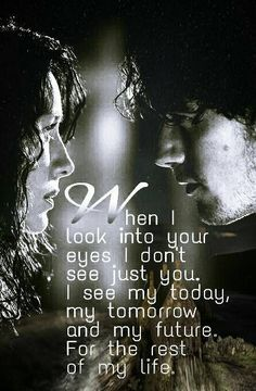 When I look into your eyes... Outlander Fans FB page - Thank you @BATBFaw                                                                                                                                                     Mehr