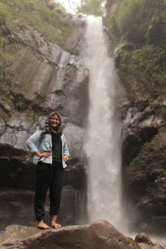 waterfall kedung kayang, magelang jawa tengah Indonesia. cheap entry price, wonderful,good to relaxing. wanna?