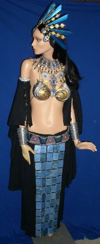 Uh Yes.... Akasha Queen of The Damned Aaliyah Vampire Bikini Costume Prop | eBay