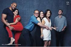 """Agent """"Dad"""" Coulson and his big happy family"""