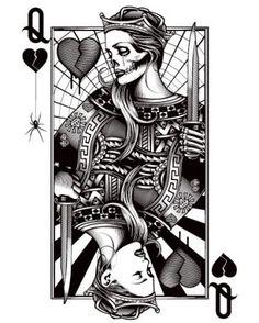 Life & Death Queen of Hearts