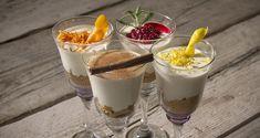 Μους χαλβά Greek Sweets, Sweet Corner, Greek Easter, Eat Dessert First, Fun Desserts, Sweet Recipes, Mousse, Nom Nom, Panna Cotta