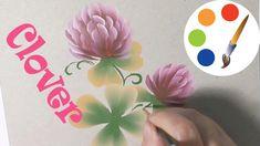Painting  flowers, Clover, Cómo dibujar el trébol, irishkalia - YouTube