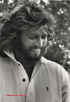 Barry Gibb - oh so handsome !   The last surviving brother of the Bee Gees.