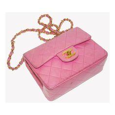 chanel sac en cuir matelassé rose | TendanceShopping.com via Polyvore