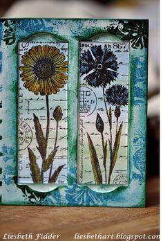 Liesbeth's Arts & Crafts: Stamps: Crafty Individuals & Art Journey