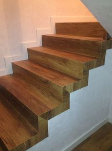 M s de 1000 ideas sobre escaleras de madera en pinterest for Como trazar una escalera de madera