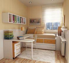 Desain Tempat Tidur Minimalis untuk Kamar Mungil Terbaru 2014