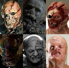 FACES OF JASON VOORHEES PART 2 Slasher Movies, Horror Movie Characters, Horror Icons, Horror Films, Arte Horror, Horror Art, Halloween Friday The 13th, Ghost Adventures, Famous Monsters