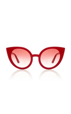 44afcad7da59 Spektre s  Vendetta  sunglasses have been crafted in Italy from red acetate  and paired with