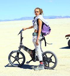 Cara Delevingne in Nevada, US at Burning Man festival - 07/05/2015