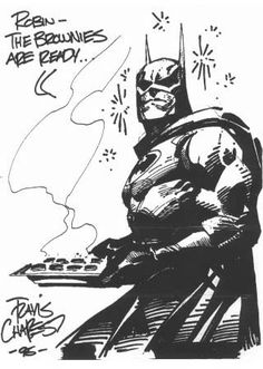 Travis Charest record: autographed drawings gallery