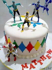 The Baking Sheet: Power Rangers Cake!