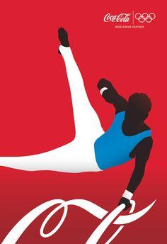 Campaña olímpica de Coca Cola. Gute Werbung
