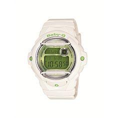 e9d917f5a535 Rebel Sport - Casio Baby-G Shock Resistant Digital Watch White