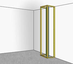 Un coffrage est un moyen simple pour cacher les canalisations et conduites apparentes. Un coffrage en BA13 sur tasseaux se fabrique et se pose (...)