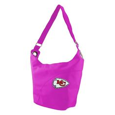 Kansas City Chiefs NFL Color Sheen Hobo (Pink)