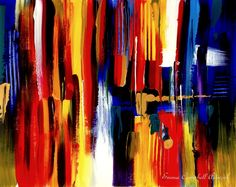 COPACABANA by Emma Campbell on ArtClick.ie Abstract Contemporary Art