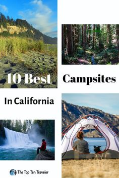 10 Best Campsites In California - The Top Ten Traveler Best Family Camping Tents, Camping Life, Camping Spots, California Camping, Visit California, Southern California, Channel Islands National Park, Best Campgrounds, Travel Usa